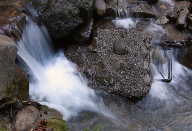 uvas canyon waterfall loop39